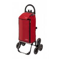 Сумка хозяйственная на колесах Aurora Amalfi, красный (109)