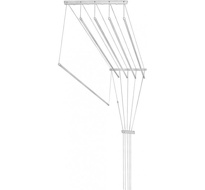 Сушка для белья потолочная алюминиевая Laundry 5x1,8 м (Br.1.80)