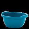Таз хозяйственный Алеана круглый 34л, бирюзовый (121050)