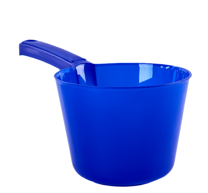 Ковшик с носиком Алеана 1л, синий (122091) - фото № 1