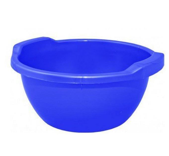 Таз хозяйственный Алеана круглый 15л, синий (121054)