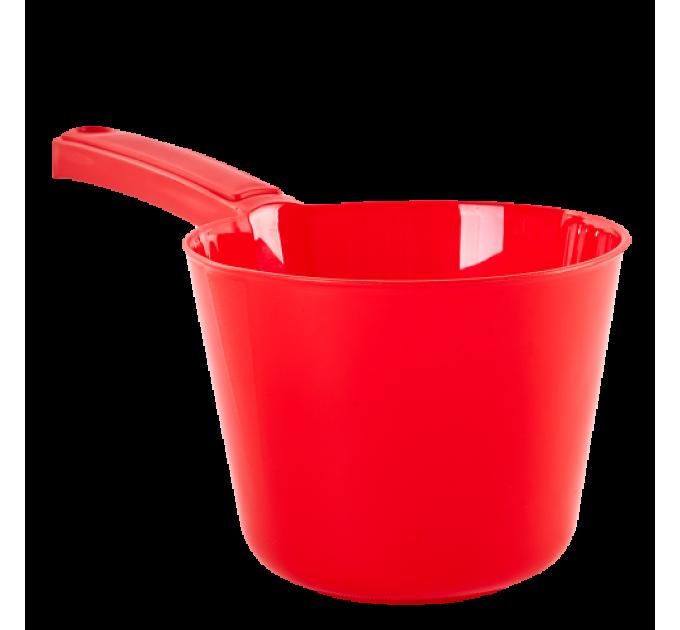 Ковшик с носиком Алеана 2л, красный (124091) - фото № 1