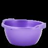 Таз хозяйственный Алеана круглый 3л, фиолетовый перламутр (121051)