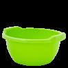Таз хозяйственный Алеана круглый 34л, оливковый (121050)