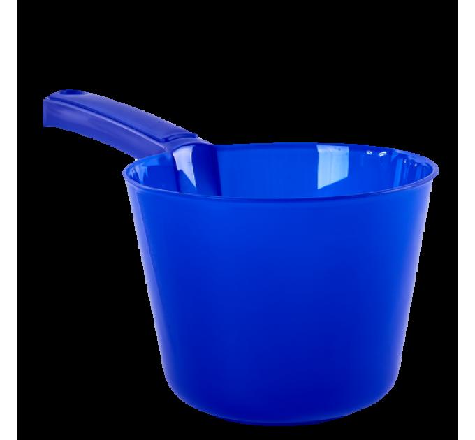 Ковшик с носиком Алеана 2л, синий (124091) - фото № 1