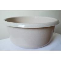 Миска пластиковая ММ-Пласт 10л, бежевый (M10/beige)