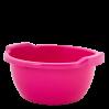 Таз хозяйственный Алеана круглый 5л, темно-розовый (121052)