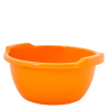Таз хозяйственный Алеана круглый 3л, оранжевый (121051)