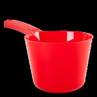 Ковшик с носиком Алеана 1л, красный (122091)