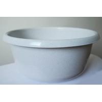 Миска пластиковая ММ-Пласт 15л, белый (M15/white)
