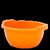 Таз хозяйственный Алеана круглый 3л, светло-оранжевый (121051)