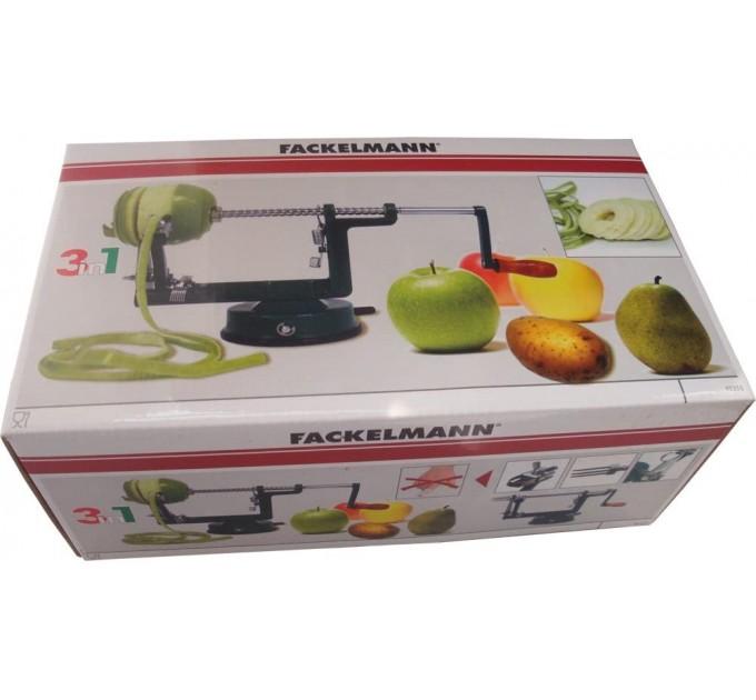 Устройство для чистки овощей/фруктов Fackelmann 25.5*10.6*13.9, сталь/пластик (45355) - фото № 1