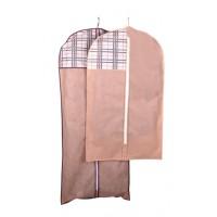 Чехол объёмный для одежды Тарлев 8*60*100см, Beige (4419)