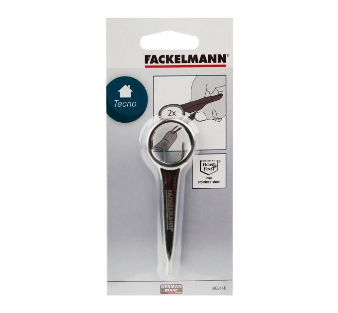 Пинцет с лупой Fackelmann 9.5 см, сталь/стекло (60321) - фото № 1