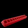 Кормушка для птиц Алеана Ряба, красный (122092)