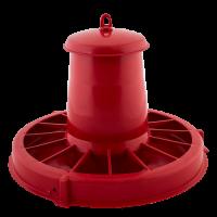 Кормушка для птиц Алеана, красный (122088)