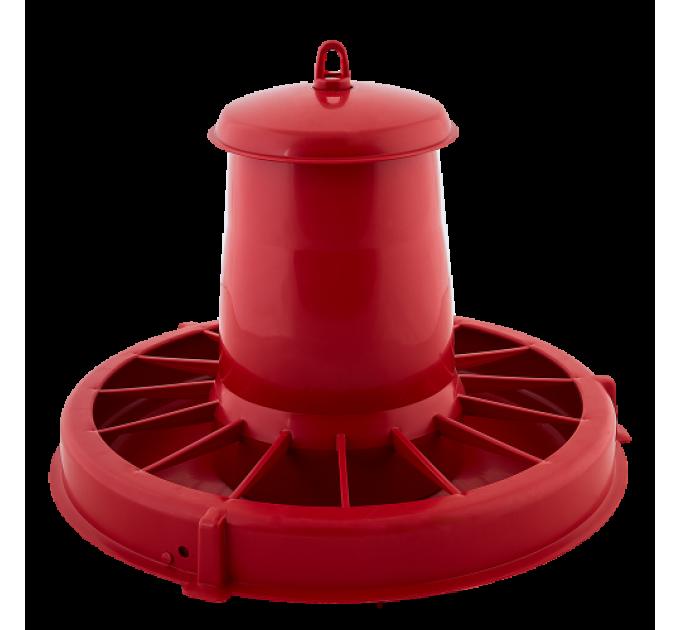 Кормушка для птиц Алеана, красный (122088) - фото № 1