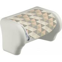 Держатель для туалетной бумаги Elif, геометрия (386-22)