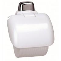 Держатель для туалетной бумаги Prima Nova, белый (24014)