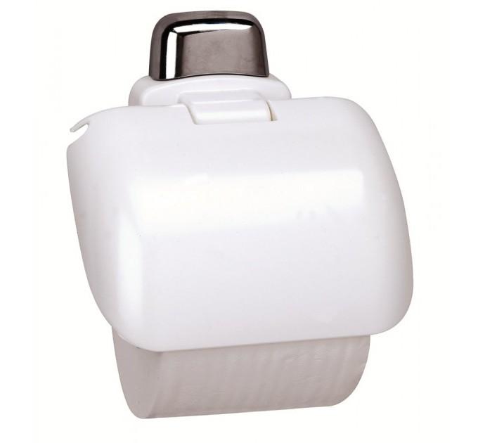 Держатель для туалетной бумаги Prima Nova, белый (24014) - фото № 1