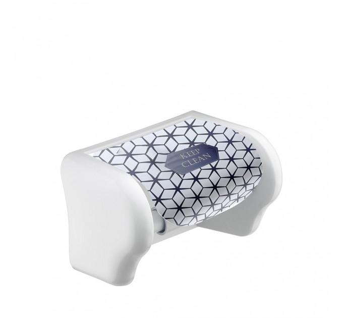 Держатель для туалетной бумаги Elif, ромбы (386-19) - фото № 1