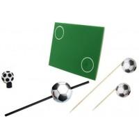"""Набор для праздника Fackelmann """"Футбол"""" коврик, соломка, шпажки для канапе (50284)"""