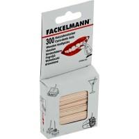 Зубочистки Fackelmann 300шт, 6.8см, древесина (57620)