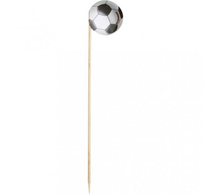 """Шпажки для канапе Fackelmann """"Футбол"""" 20шт, 15 см, древесина (50286) - фото № 1"""