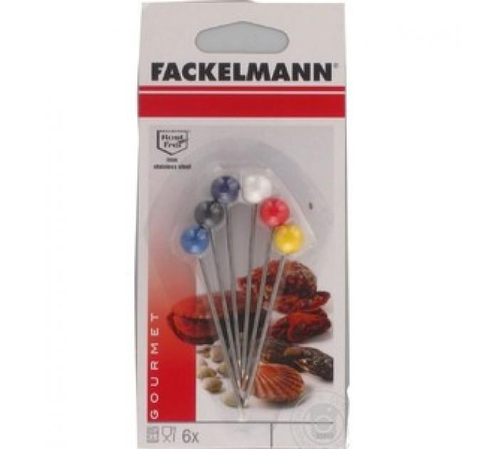 Шпажки для морепродуктов Fackelmann 6шт, сталь/пластик (33510) - фото № 1