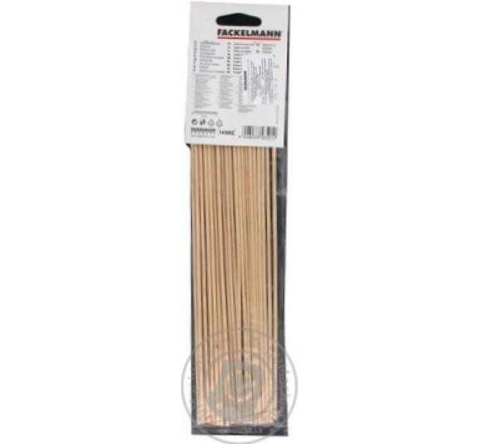 Шпажки для шашлыка Fackelmann 100шт, 30 см, бамбук (680835) - фото № 1