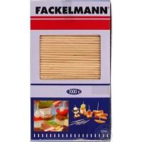 Зубочистки двусторонние Fackelmann 1000шт, 6.8см, древесина (57680)