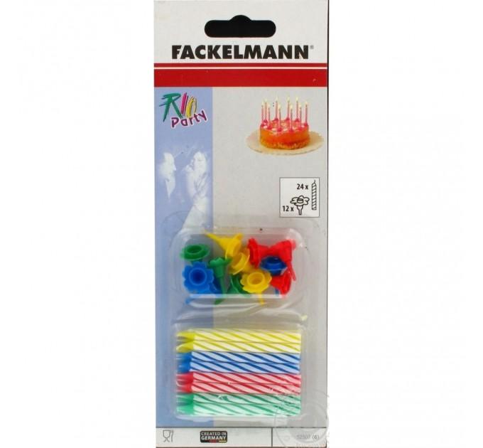 Свечи для торта Fackelmann 24шт, 8 см (52507) - фото № 1