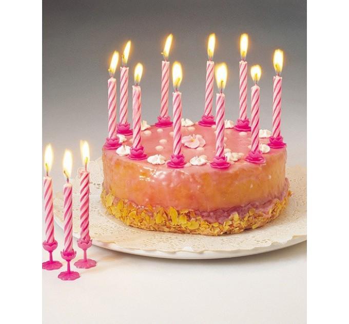 Свечи для торта Fackelmann 24шт, 8 см (52507) - фото № 2