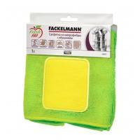 Салфетка для уборки Fackelmann с абразивом, микрофибра (686491)
