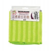 Салфетки для уборки Fackelmann 2шт, микрофибра (686490)