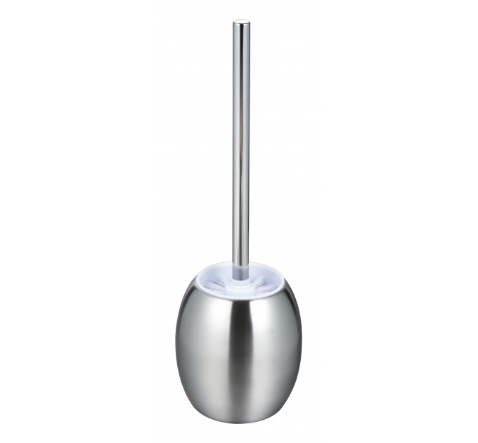 Ершик для унитаза Eco Fabric ОВАЛ, нержавеющая сталь (TRL1202-A) - фото № 1