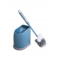 Ершик для унитаза Eco Fabric ПРЕМИУМ, сине-серый (TRL0317B)