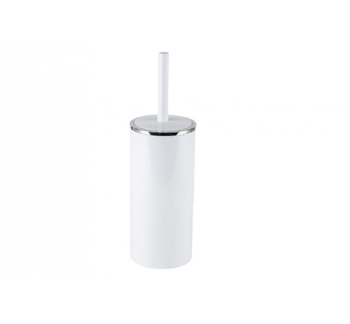 Ершик для унитаза Prima Nova LENOX, белый (E34-01) - фото № 1