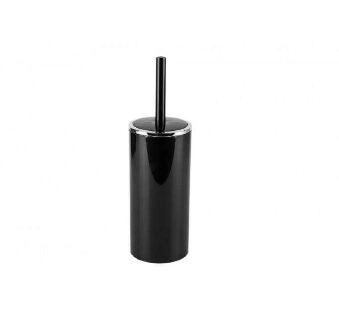 Ершик для унитаза Prima Nova LENOX, черный (E34-06) - фото № 1