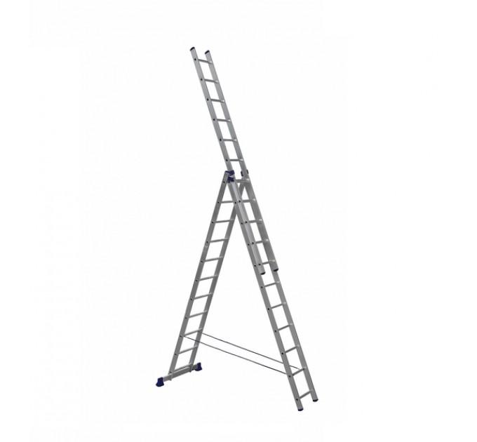 Лестница универсальная Aloft алюминиевая 3х11 (CLA-311)