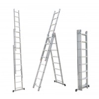 Лестница универсальная Aloft алюминиевая 3х8 (CLA-308)