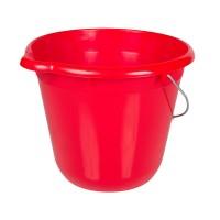 Ведро для уборки круглое 12л Tuttomop 42122, красный (SERO12SS-red)