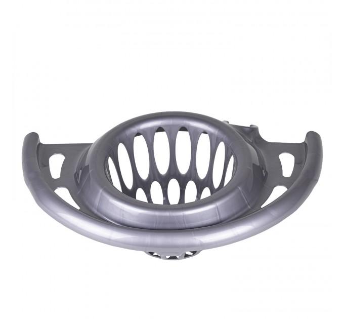 Отжим на ведро для уборки круглое 12л Tuttomop 61110, серый (STSERO-silver) - фото № 1