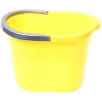 Ведро для уборки овальное 13л Tuttomop 00135, желтый (SOV13SS-yellow)