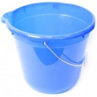 Ведро для уборки круглое 12л Tuttomop 42122, голубой (SERO12SS-blue)