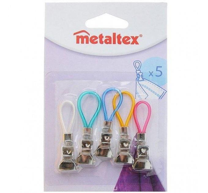Зажимы для полотенец Metaltex 5шт. (297104) - фото № 1