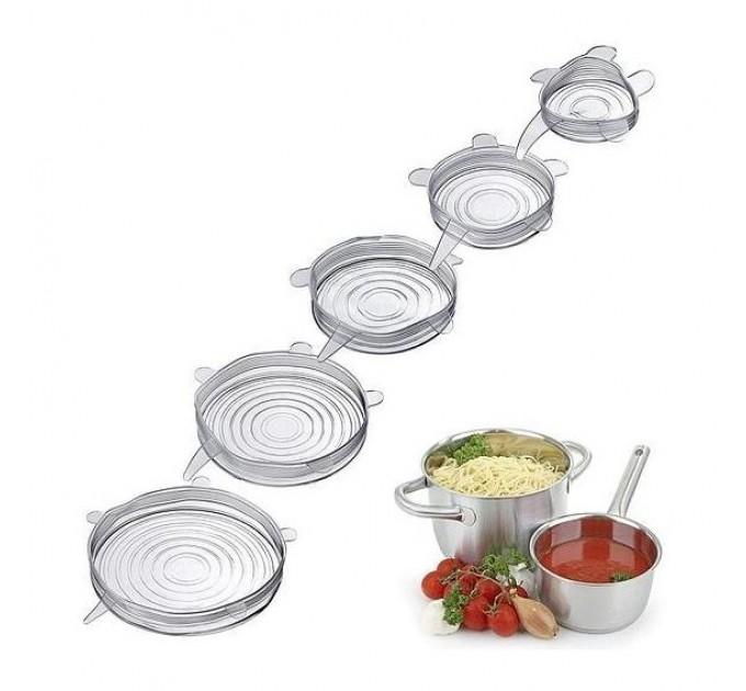 Крышки силиконовые для посуды 5шт Westmark (W23262260) - фото № 1