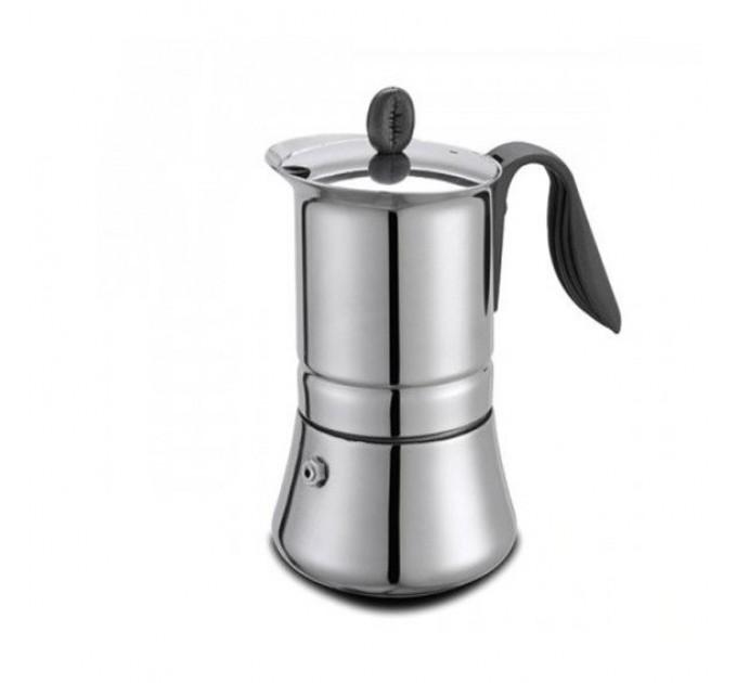 Гейзерная кофеварка на 4 чашки LADY INDUCTION GAT (113204) - фото № 1