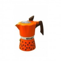 Гейзерная кофеварка на 6 чашек COFFEE SHOW GAT, апельсиновый (104606)