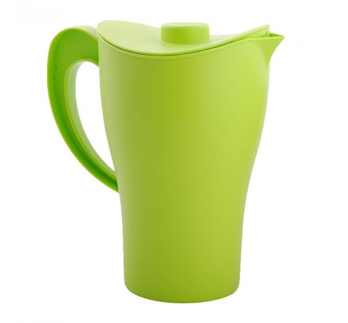 Кувшин с крышкой Алеана 2л, зеленый (168033) - фото № 1